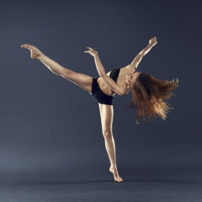 Power and grace!  Courtesy of Contemporary dancing