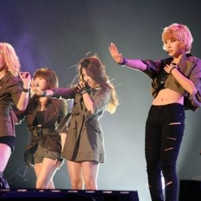 K-Pop group dazzle the crowd on stage